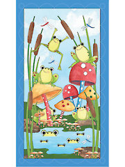 "Pond Party Panel - 24"" x 43"""