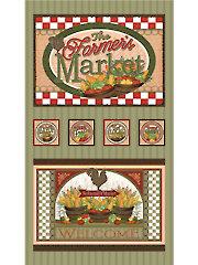 "Farmer's Market Panel - 22 1/2"" x 40"""