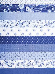Blue Stripes 1 Yard Cut