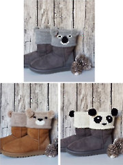 Bear Boot Toppers Knit Pattern