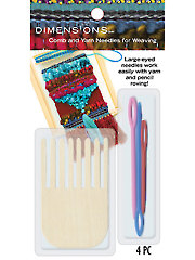 Comb & Yarn Needles for Weaving