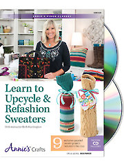 Learn to Upcycle & Refashion Sweaters Class DVD