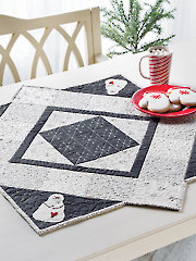 Snowman Table Topper Pattern