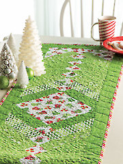 Braided Holiday Table Runner Pattern