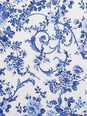 Porcelain Blue 2 Yard Cut