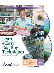 Learn 4 Easy Rag Rug Techniques Class DVD