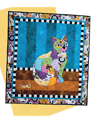 Princess Kitty Kitty Wall Hanging Pattern