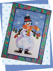 Snowball Wall Hanging Pattern