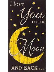 """Moon Panel - 24"""" x 44"""""""