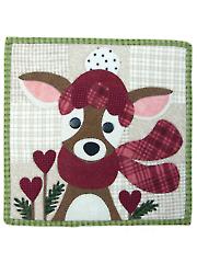 My Deer Valentine Quilt Pattern - February