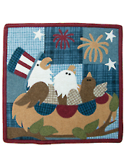 Star Spangled Quilt Pattern - July