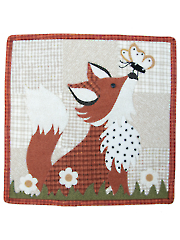 Frolicking Fox Quilt Pattern - August