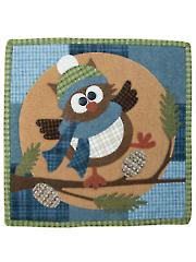 Moonlight Hoot Quilt Pattern - September