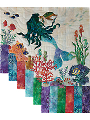Mermaid Kisses Wall Hanging Pattern