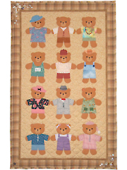 Friendship Bears Wall Hanging Pattern