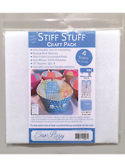 Stiff Stuff Craft Pack 4/pkg.