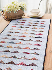 Exclusively Annie's Flags Table Runner Pattern