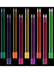 Light-Up Knitting Needles