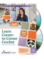Learn Corner-to-Corner Crochet Class DVD
