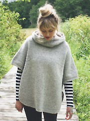 Sheltered Poncho Knit Pattern
