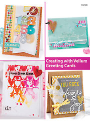 Creating with Vellum Greeting Cards