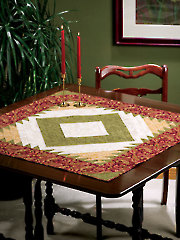 Pleasingly Paisley Table Topper Pattern