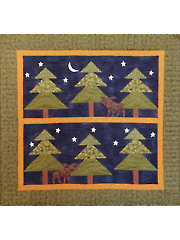 In the Pines Wall Hanging Pattern