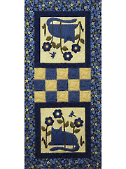 Cats in the Garden Wall Hanging Pattern