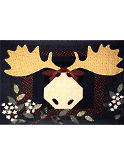 Moose on the Loose Wall Hanging Pattern