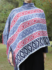 Tribal Traditions Poncho & Afghan Crochet Pattern