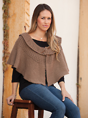 Collared Cape Crochet Pattern