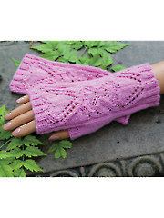 Heart of Mine Fingerless Gloves Knit Pattern