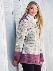 ANNIE'S SIGNATURE DESIGNS: Lee Ann Hoodie Crochet Pattern