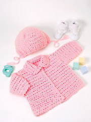 Pretty in Pink Crochet Pattern