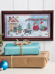 Christmas Tree Farm Counted Cross Stitch