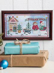 Christmas Tree Farm Counted Cross Stitch
