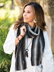 Smoky Mountain Scarf Knit Pattern