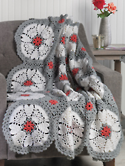 Heart Keepsake Throw Crochet Pattern