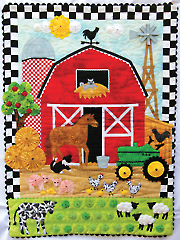 Country Crossing Wall Hanging Pattern