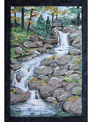 Waterfall Wall Hanging Pattern