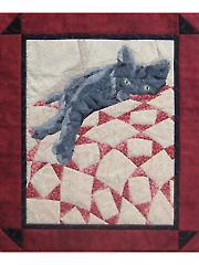 Cat Nap Wall Hanging Pattern