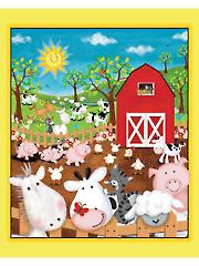 "Animal Farm Panel - 36"" x 43"""