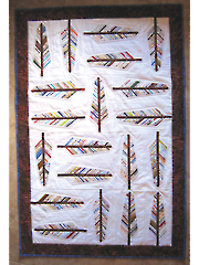 Audubon Selvage Feather Quilt Pattern