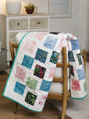 EXCLUSIVELY ANNIE'S QUILT DESIGNS: Tumbling Blocks Quilt Pattern