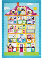 Dollhouse Quilt Pattern
