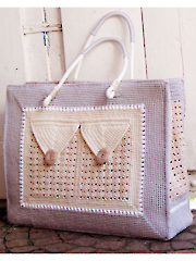 Shopping Bag With 3 Pockets Crochet Pattern