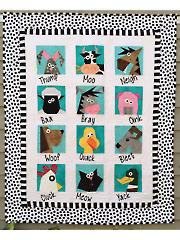 Farmyard Stars Quilt Pattern
