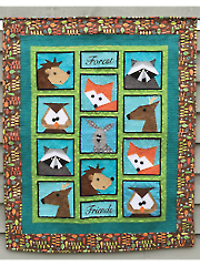 Forest Friends Quilt Pattern