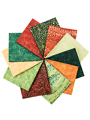 Dreamscapes Sunset/Rainforest Fat Quarters - 11/pkg.