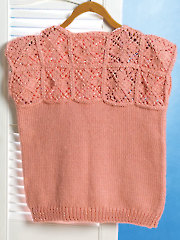 Counterpane Yoke Sweater Knit Pattern